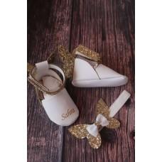 Gold kelebek Cindirella isimli ilk adım ayakkabısı